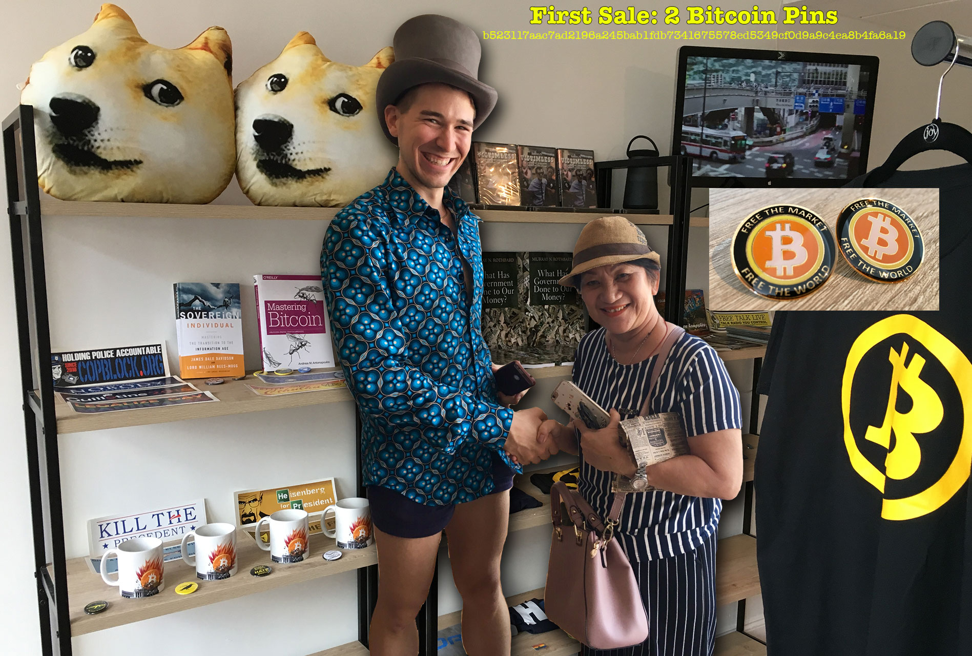 "Dollars Not Accepted, Free Staters Bet on Bitcoin with America's First ""Crypto-Only"" Retail Shop"
