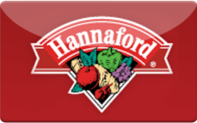 Hannafords Gift Card