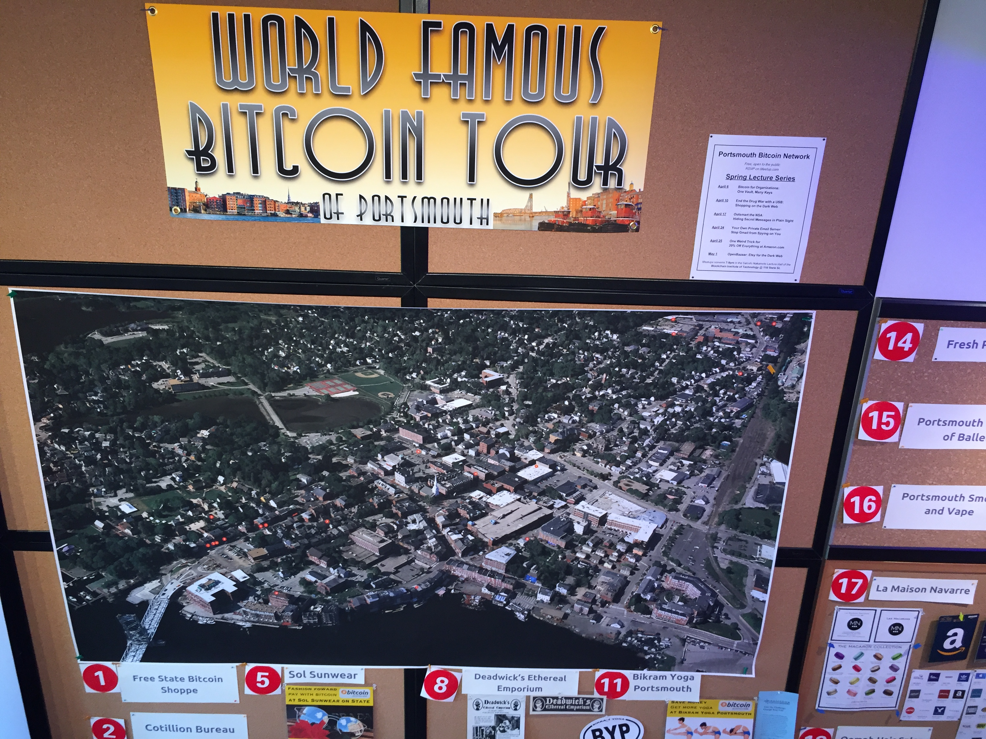 Join in The World Famous Bitcoin Tour!