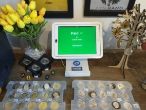 Take Digital Cash at Your Business in 16 Seconds