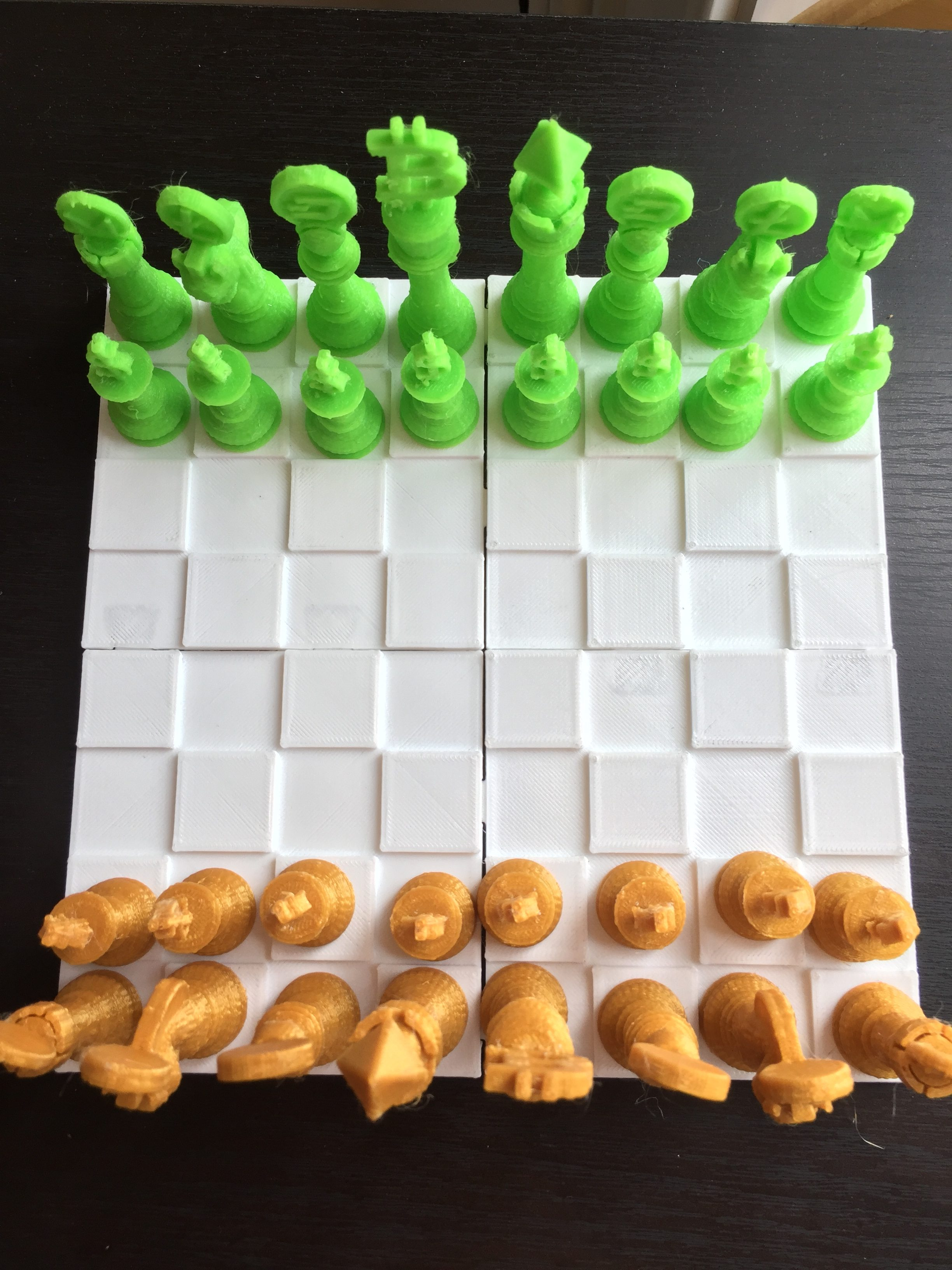 New Item: 3D Printed Chess Set