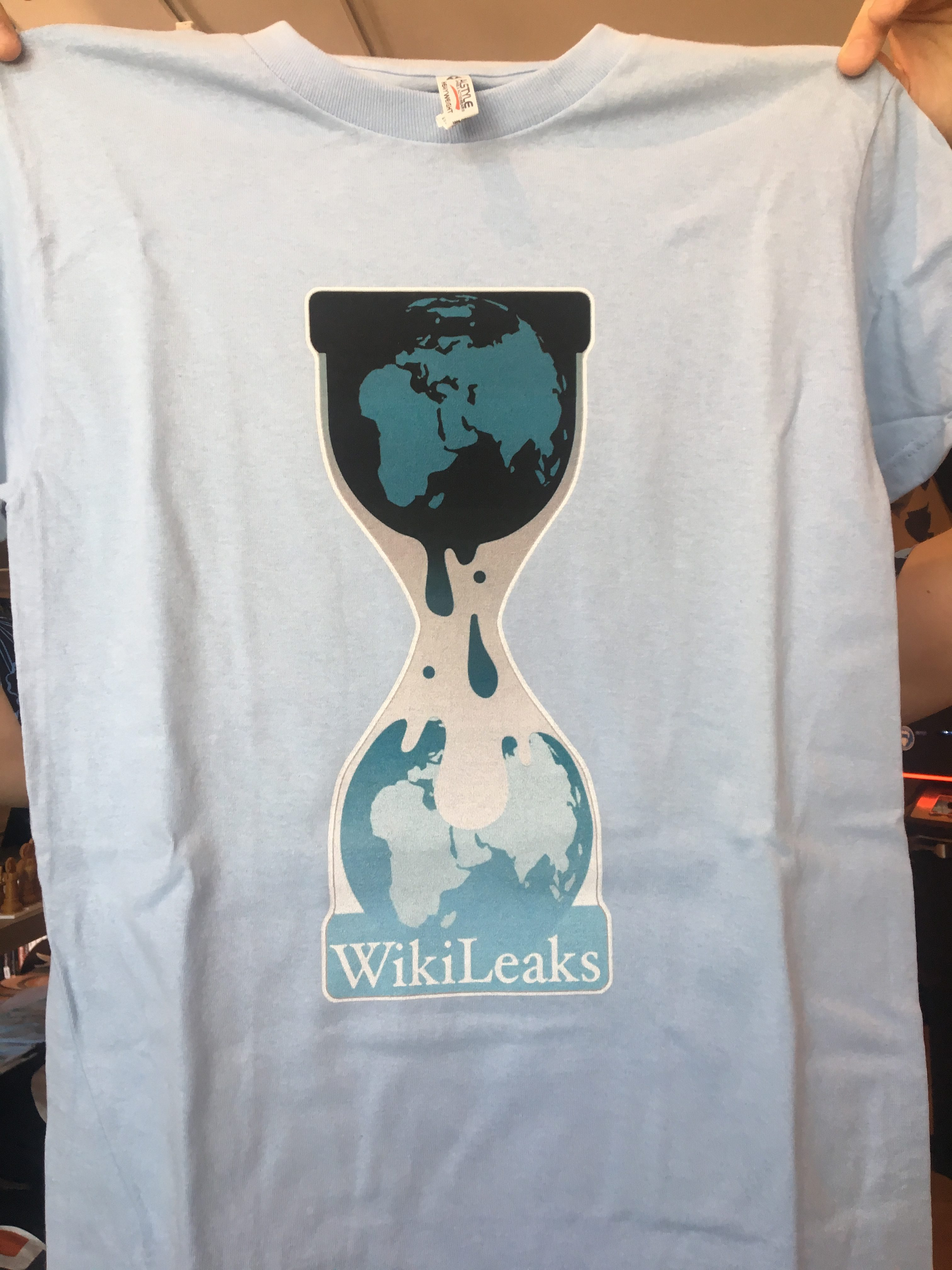 WikiLeaks Merchandise at the Shoppe