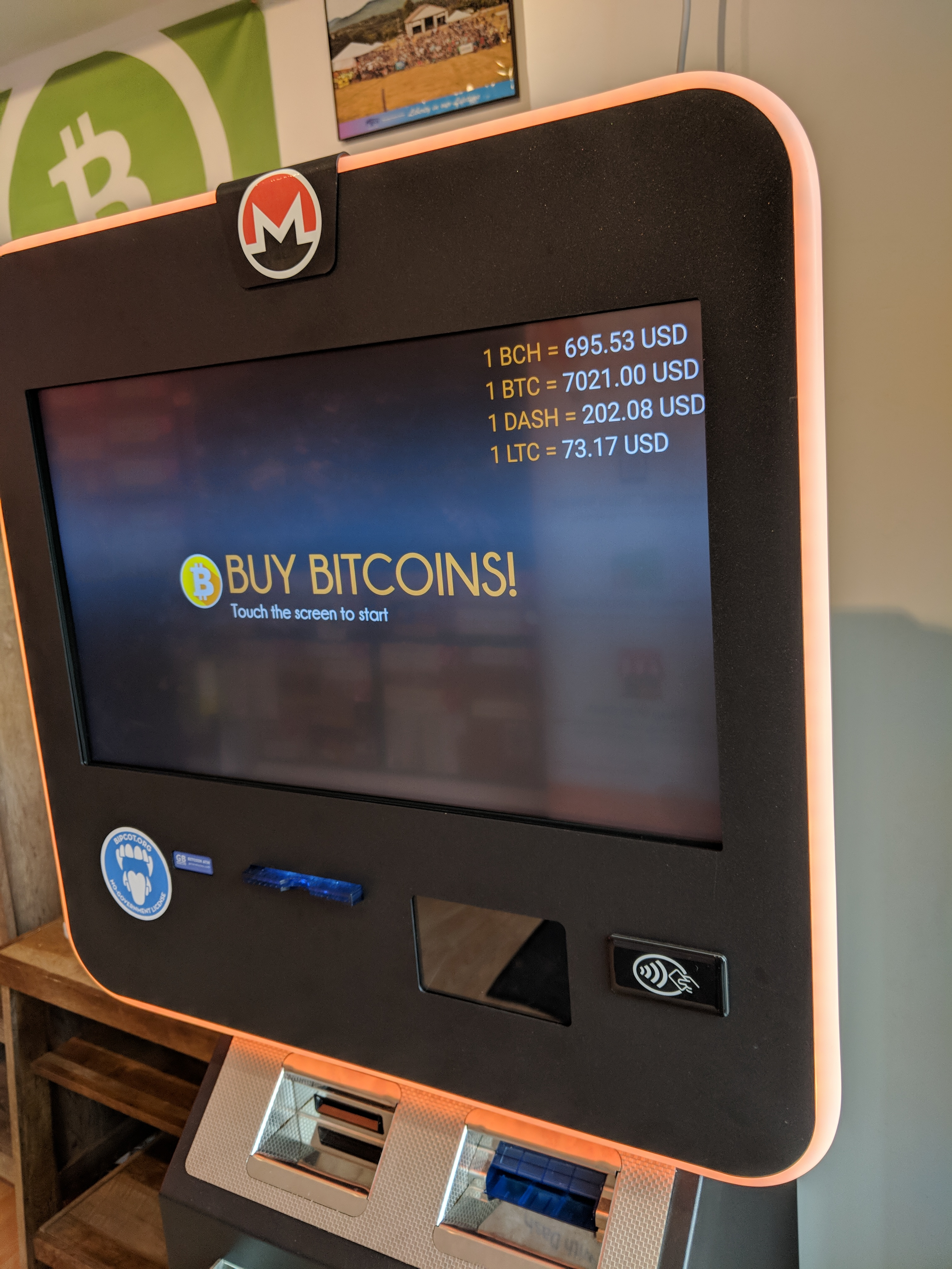NO FEE BITCOIN EXCHANGE & ATM