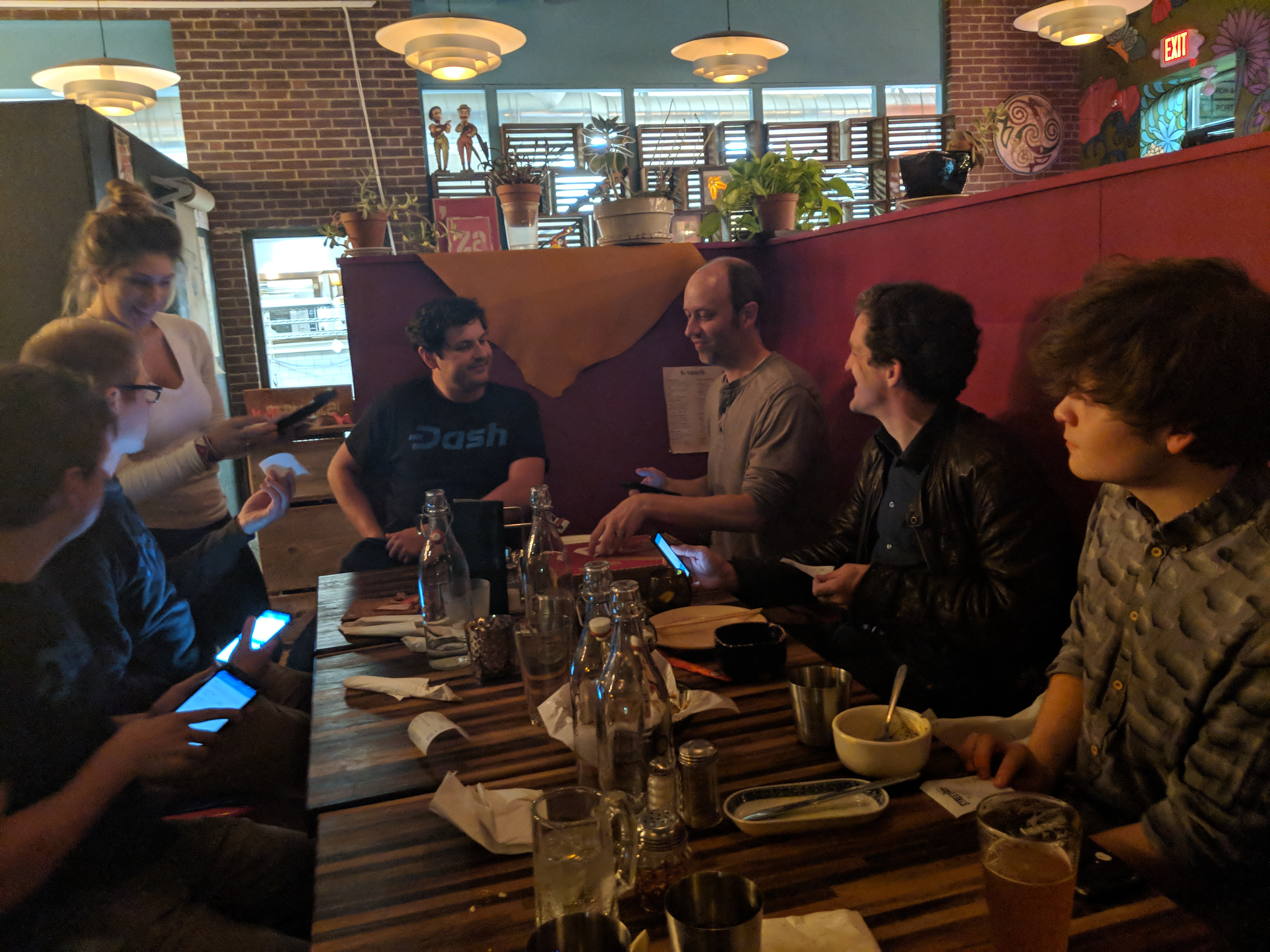 Dash Meetup Beasts Bitcoin Meetup — Again