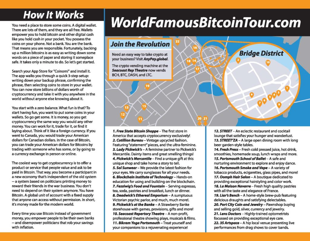 World Famous Bitcoin Village Tour – Free State Bitcoin